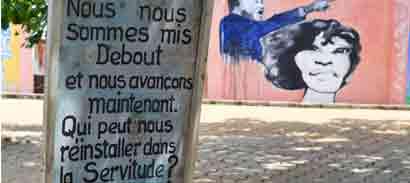 place chacha, Ouidah, Atelier-Forum Bénin, Quinoa