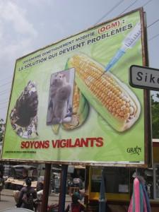 Campagne sensibilisation OGM Bénin