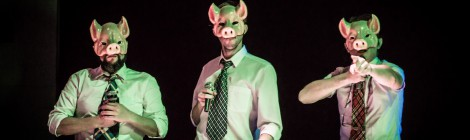 Pénélope et les 3 petits cochons - les dérives de l'alimentation au théâtre